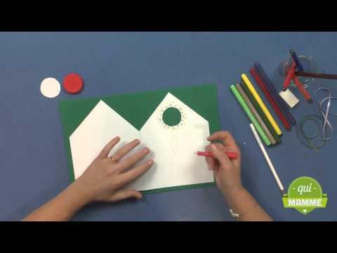 tutorial: come fare i biglietti di auguri di natale