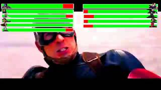 Video Captain America: Civil War - Airport Battle Scene Part 1 with healthbars (7000 Subscribers Special) download in MP3, 3GP, MP4, WEBM, AVI, FLV January 2017
