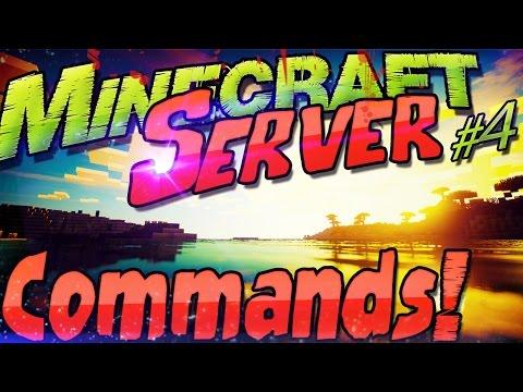 Minecraft Server 1.8.4 COMMANDS Funktionen & Befehle   OP + Whitelist + Spawn + Zeit Wetter Gamemode