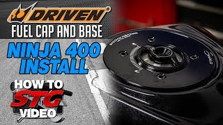 3. Driven 2018 Kawasaki Ninja 400 Fuel Cap and Base Install | Sportbike Track Gear