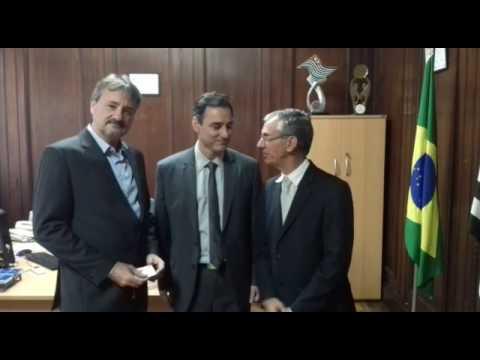 Prefeito Tobardini, Dep. Davi Zaia e Secretario Silvio Garcia Junior