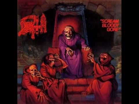Tekst piosenki Death - Scream bloody gore po polsku