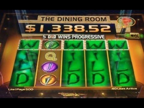 NEW CLUE slot machine BIG BONUS WIN (CLUE 2)