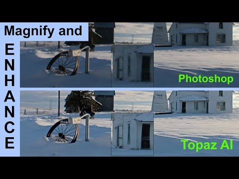 Topaz AI Sharp and AI Gigapixel Review. Is Magnify & Enhance Real?