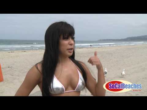 Swimsuit Bikini Model Alana Interview & Mission Beach Girl Photo Shoot