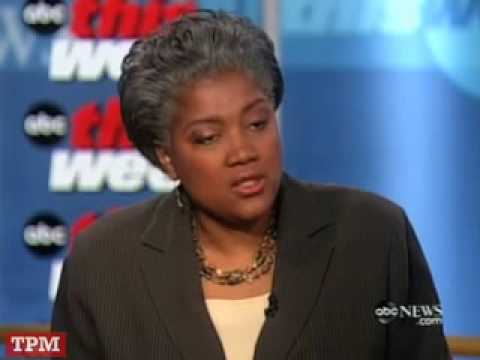 We Also Have Donna Brazile…