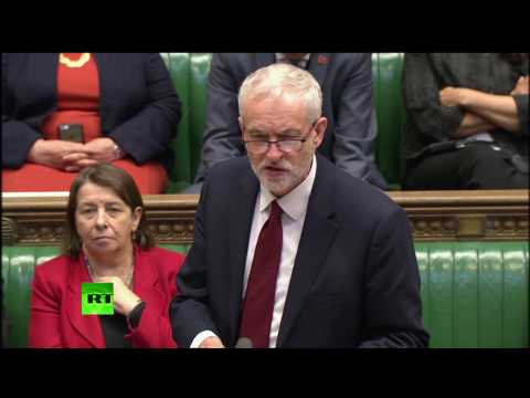 Corbyn's FULL response to May's General Election statement