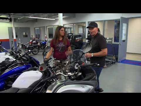 Suzuki Shifting Gears - Shopping for a Motorcycle