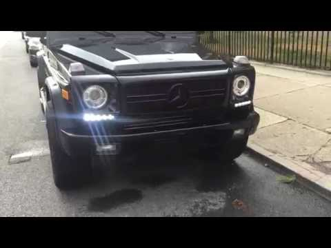 For sale - 2002 G500 90k miles G63 conversion G63 exhaust G63 wheels $32,000 firm.