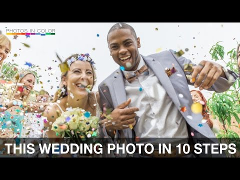 Take the best WEDDING photograph EVERY time - Wedding Photography Tips (видео)