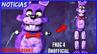 Nonton PROTOTYPE BONNIE / Nuevo Teaser + Nuevo Animatronico / FNAC 4 Unofficial Film Subtitle Indonesia Streaming Movie Download