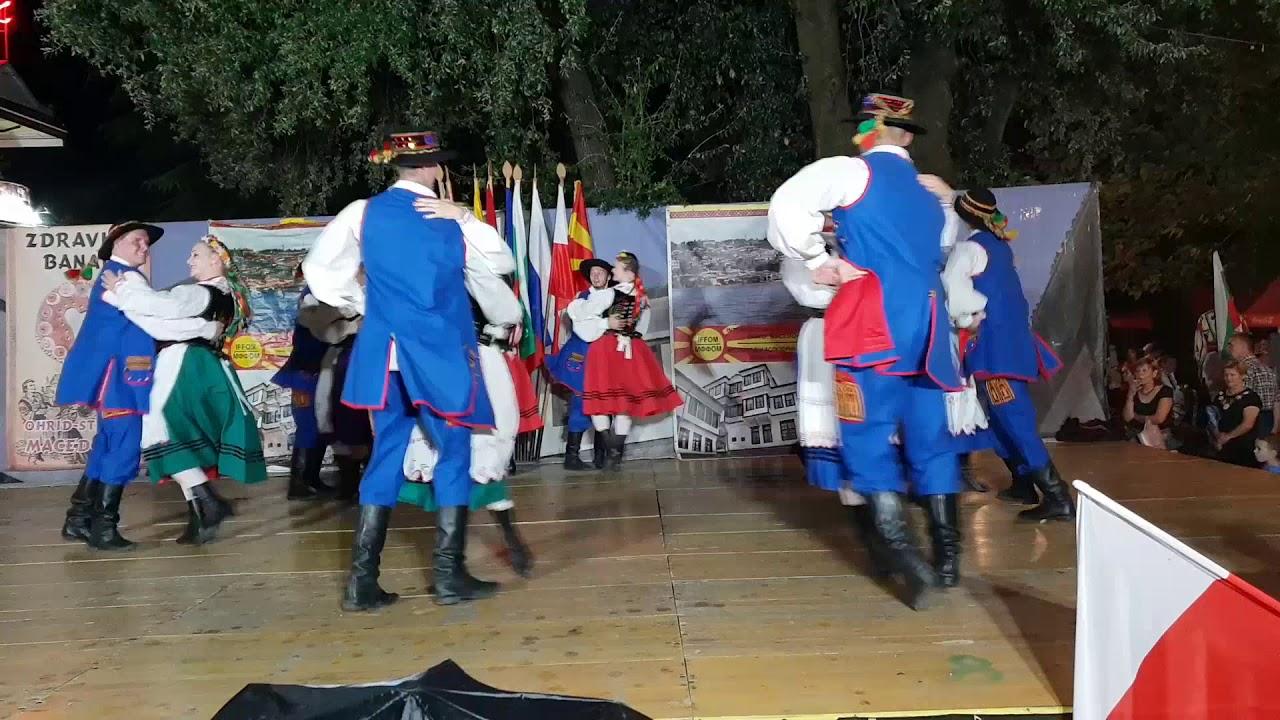 Zespół  Tańca Ludowego Kościelec w Macedonii