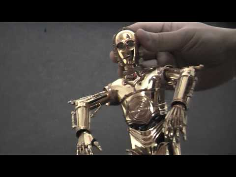 0 Medicom Toy x Star Wars   RAH C 3PO & RAH R2 D2 | Video