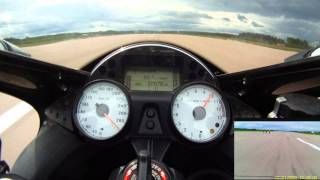 8. ZX-14 Top Speed Run, Standing Mile -  18.6.2011 Halli