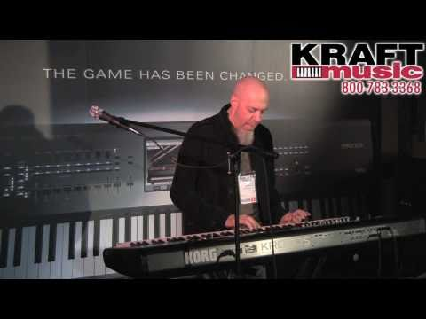 Jordan Rudess - Jordan Rudess of Dream Theater demonstrates the Korg Kronos 88 workstation at the 2011 Winter NAMM show in Anaheim, CA. Find exclusive Korg Kronos workstatio...