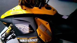 9. Skidoo 2008 MXZ 550