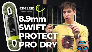 *ALL NEW*  Edelrid Swift Protect Pro Dry climbing rope with aramid sheath by WeighMyRack