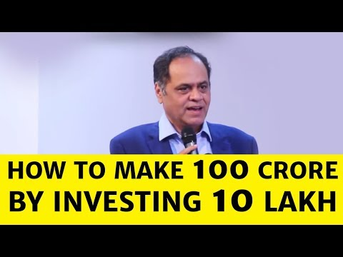 How to make 100 crore by investing 10 lakh: Ramesh Damani