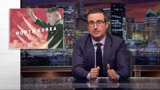 "As nuclear tensions continue to escalate between the United States and North Korea, John Oliver enlists ""Weird Al"" Yankovic to ..."