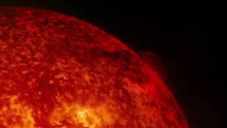ناسا تنشر مقطع لما يحدث على سطح الشمس