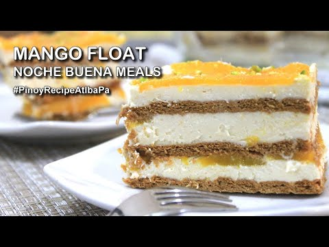 Mango Float Recipe | How To Make Mango Float