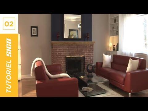PEINTURE SICO | Tutoriel maison: les principes de base de la peinture.