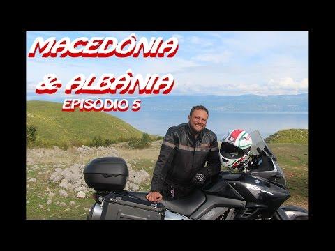 VIAGEM DE MOTO LESTE EUROPEU MACEDONIA e ALBANIA