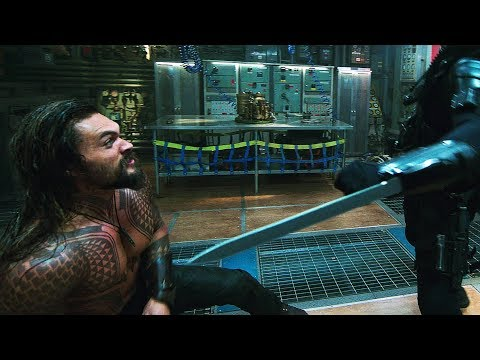 Aquaman vs Black Manta. Submarine | Aquaman [4k]