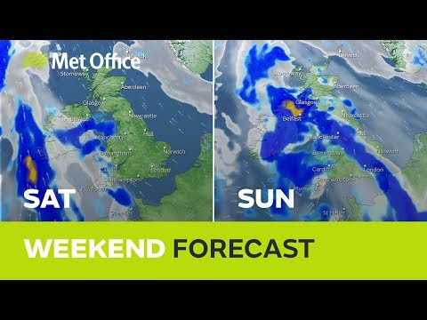 Weekend weather - Warm and sunny on Saturday, unsettled on Sunday 19/09/19
