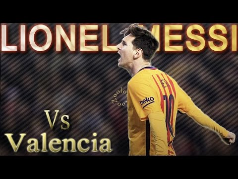 Lionel Messi Vs Valencia (Away) ● 2015-16 ᴴᴰ
