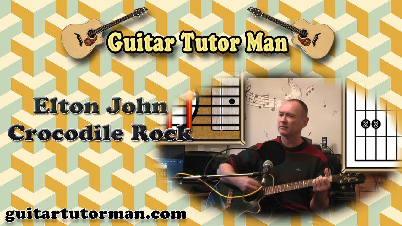 Crocodile Rock – Elton John – Acoustic Guitar Lesson