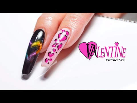 Gel nails - Valentine's Nails Gel Nail  Anastasia Luksha