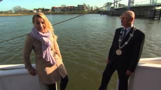 Watch This Dutch Reporter Fall Into A River In The Middle Of An Interview With The Mayor