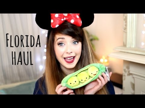 haul - All the things I picked up whilst I was in Florida! Thumbs up for Minnie Mouse ears becoming a staple. Florida Vlogs: http://youtube.com/morezoella WHERE ELS...