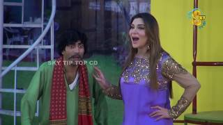 Sajan Abbas and Tariq Teddy New Pakistani Stage Drama Clip 2018 | Pk Mast