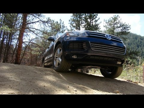 2014 Volkswagen Touareg TDI Colorado Rocky Mountain Off-Road Review