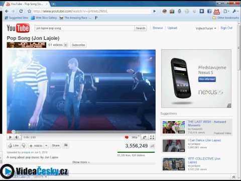 Návod #1: Vyhledávání konkrétního videa z YouTube