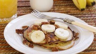 Bananenpannenkoeken met 2 ingrediënten