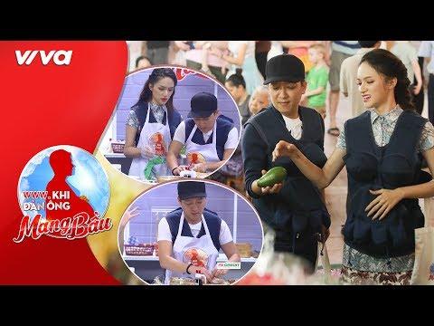 """Hương Giang """"phục sát đất"""" tài nấu ăn của Trường Giang - """"người chồng đảm đang nhất showbiz Việt"""" - Thời lượng: 14:16."""