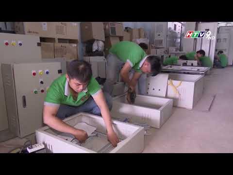 Phóng sự về phát triển ngành sản xuất Tủ Bảng Điện Của Công ty CP Điện BBE trên kênh HTV9