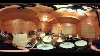 Trying out a 360 video of some drums. Chose to cover this Ghostpoet song as I quite like playing it and enables me to improv a bit. #360Video