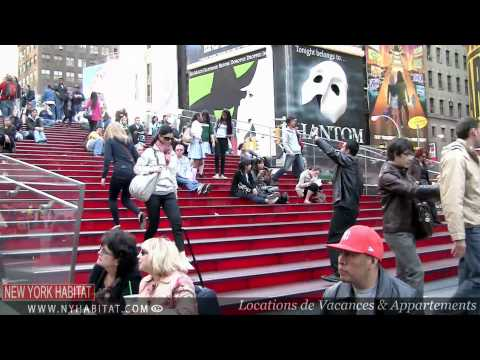 time square - Dans ce nouvel pisode des fameuses visites guides  le long de Broadway   New York, David Hill de New York Habitat ( http://www.nyhabitat.com/fr/ ) vous ...