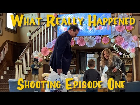 😲 FULLER HOUSE what REALLY HAPPENED shooting EPISODE ONE?!