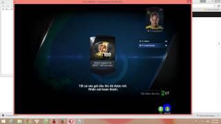 Fifa Online 3 - Thánh mở thẻ đen nhất vịnh bắc bộ, fifa online 3, fo3, video fifa online 3
