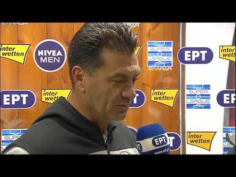 Γκουτσίδης: «Αυτή η ομάδα είναι για ψηλότερα» | 05/01/2020 | ΕΡΤ