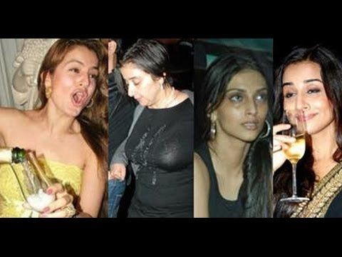 Bollywood Actresses Who Smoke & Drink In Real Life