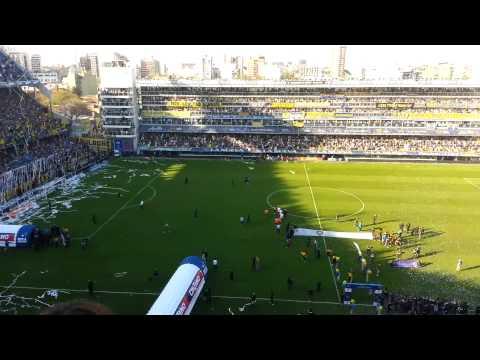 Salida Boca vs RiBer - Superclásico 2013 - La 12 - Boca Juniors