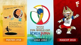 Video FIFA World Cup logos, Posters and Mascots Through The Years 1930 - 2018 ⚽ Footchampion MP3, 3GP, MP4, WEBM, AVI, FLV Desember 2017