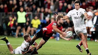 Crusaders v Sharks 2018 Super rugby quarter-final video highlights | Super Rugby    Video Highlights