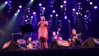 with Cecile Mclorin Salvant